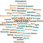 Universe vocabulary